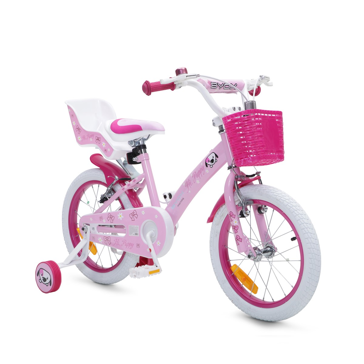 a7547901303 Byox детски велосипед с помощни гуми Puppy (16 inch) MONI-100983 ...